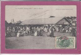GUINEE FRANCAISE .- BOKE Le Marché - Guinée Française