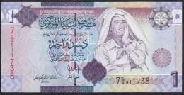 Libya 1 Dinar 2009 P71 UNC - Libya