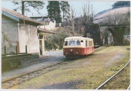 Chemins De Fer Départementaux Du Tarn - Autorail Billard A80D En Gare De VABRE - Vabre