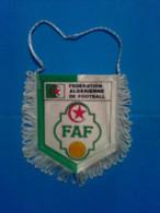 Football Soccer. Pennant. Algeria Football Federation - Uniformes Recordatorios & Misc