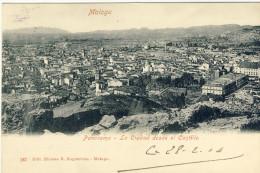 MALAGA -- PANORAMA -- LA  CIUDAD  Desde El  CASTILLO - Malaga