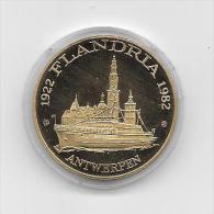 1922-1982 FLANDRIA ANTWERPEN - Gemeentepenningen