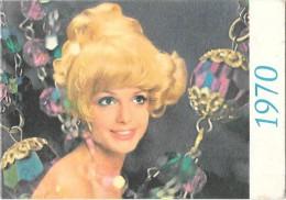 """Calendrier De Poche -publicitaire """" Wella """" Coloration - Petit Format : 1961-70"""
