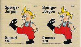 """2010 DENMARK  Dänemark,  """"Children's Books""""  Mi. 1596 BD  Perf. 10 1/4 From Booklet  **MNH RAR  Europa - 2010"""