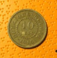 10 Cent 1916 - 03. 5 Centimes