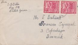 British Guiana; Cover To Denmark 1947 - Guayana Británica (...-1966)