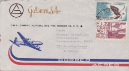 Mexico; Cover To Germany 1963 - Mexico