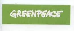 Greenpeace (autocollant) Santé Environnement - Salute