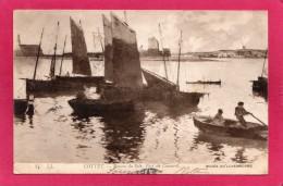 Tableau De COTTET, Bayons Du Soir, Port De Camaret, Musée Du Luxembourg, 1907, (L. L.) - Cartoline