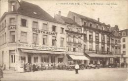 4. - HEYST-SUR-MER : Place De La Station - Les Hotels - Henri Georges,Editeur, Bruxelles - Cachet Poste 1923 - Heist