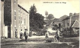 Carte Postale Ancienne De LIGNEVILLE - France