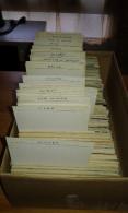 Frais D´envoi Gratuits - Lot D´environ 3500 Cartes Diverses De France Type Drouille - 500 Postales Min.
