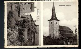BELGIQUE, BOUFFIOULX, L'EGLISE, LA GARE - Châtelet