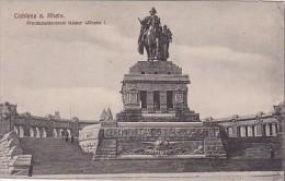 Germany Koblenz Provincialdenkmal Kaiser Wilhelm I