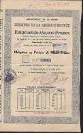 Obligation  Au Porteur De 1000  Francs Commune DE LA BAUME D'HOSTUN  Drôme 1939 - A - C