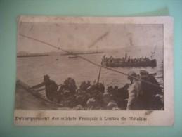 2471  Débarquement  Soldats Français à Loutra De Mételin - Guerre 1939-45