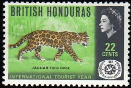 BRITISH HONDURAS - Scott #206 Jaguar / Mint NH Stamp - Honduras Britannique (...-1970)