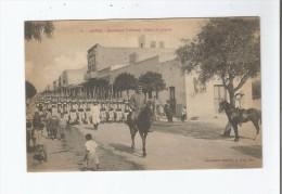 GABES 6 BOULEVARD FALLIERES DEFILE DE JOYEUX 1917 - Tunisie