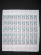 Feuille  (planche De 45 TP N°1748**) - Feuilles Complètes