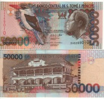 SAINT THOMAS & PRINCE  50'000 Dobras  NEW DATE  (P68e)  Dated  31.12.2013  UNC - Sao Tomé Et Principe