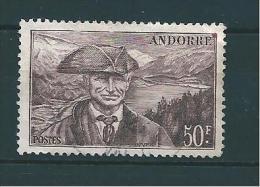 Andorre Timbre De 1944/46  N°118  Oblitéré - Oblitérés