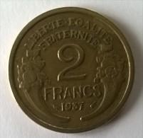 2 Francs 1937 - Morlon - TTB - - I. 2 Francs