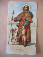 """IMAGE Pieuse Italienne """"Orazione A S. ROCCO"""" (RIDALNIDI) - Religion & Esotérisme"""