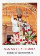 Squinzano LE - Santino SAN NICOLA DI MIRA - PERFETTO M30 - Religione & Esoterismo