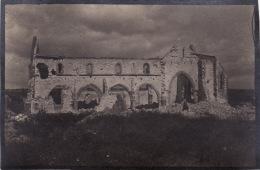 Photo Juillet 1917 SAINTE-MARIE-A-PY (près Suippes) - L´église (A135, Ww1, Wk 1) - France