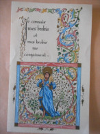 """IMAGE COMMUNION """"Jean-Paul BELLIARD - N D De Lorette PARIS 1957 - Religion & Esotérisme"""