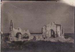 Photo Aout 1917 SAINTE-MARIE-A-PY (près Suippes) - L´église (A135, Ww1, Wk 1) - France
