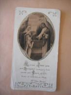 "IMAGE COMMUNION ""Antoinette GAUDRON Eglise Paroissiale ANTIBES - 1934"" (BOUASSE) - Religión & Esoterismo"