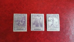 PORTUGAL  Angola   1925   Scott  RA1/3     Serie Completa  MNH** - Angola