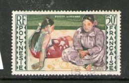 POLYNESIE 1958 GAUGUIN  YVERT  N°A2  OBLITERES - Oblitérés