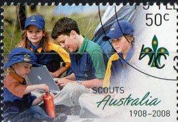 Australia 2008 50c Scouts CTO - 2000-09 Elizabeth II