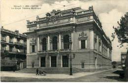 CETTE (34) - Le Grand Théâtre Municipal - Sete (Cette)