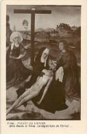A-16 4248 : MUSEE DU LOUVRE  LA DEPOSITION DU CHRIST  PAR DIRK BOUTS  LE VIEUX - Arts