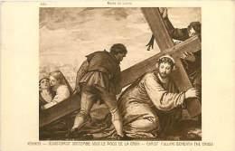 A-16 4249 : MUSEE DU LOUVRE  JESUS CHRIST SUCCOMBE SOUS LE POIDS DE LA CROIX   PAR VERONESE - Arts