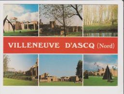 CPM - VILLENEUVE D'ASCQ - Le Musée D'Art Moderne - Multivues - Villeneuve D'Ascq