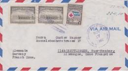 Honduras; Cover  To Germany 1950 - Honduras