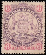 RHODESIA British South Africa Company - Scott #31 Coat Of Arms / Used Stamp - Great Britain (former Colonies & Protectorates)