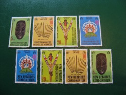 NOUVELLES HEBRIDES POSTE ORDINAIRE N° 559/562 + 563/566 NEUFS ** LUXE - SERIES COMPLETES - COTE YVERT 8,80 EUROS - Collections, Lots & Series
