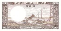 LAOS P. 16a 100 K 1974 UNC - Laos