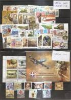 SERBIA 2012 ,COMLET YEAR PLUS ADITIONAL STAMPS - Serbia