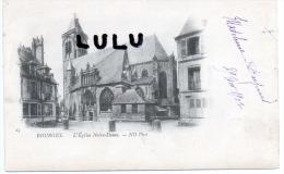 DEPT 18 : Précurseur 2 Scans : Bourges , L église Notre Dame - Bourges