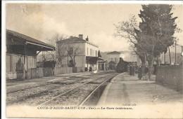C P A  -  SAINT -  CYR   La Gare - Saint-Cyr-sur-Mer