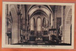 Carte Postale 21. Les Maillys Intérieur De L'église    Trés  Beau Plan - France