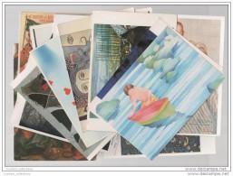 20 Art Postcards - Painting Art Modern Art Classic - Portugal & World - Sonstige
