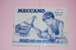 Rare Ancien Catalogue 1952 Meccano,Hornby,Dinky Toys,voiture,train,ect.. - Dinky