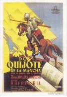 CALENDARIO DEL AÑO 2001 DE DON QUIJOTE DE LA MANCHA (CALENDRIER-CALENDAR) - Tamaño Pequeño : 2001-...